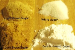 types of sugar