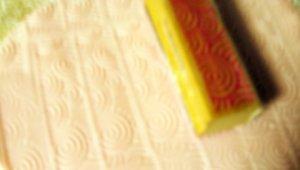 stamping fondant